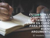 Estos son los componentes que tienes que tener en cuenta para generar buenos argumentos.