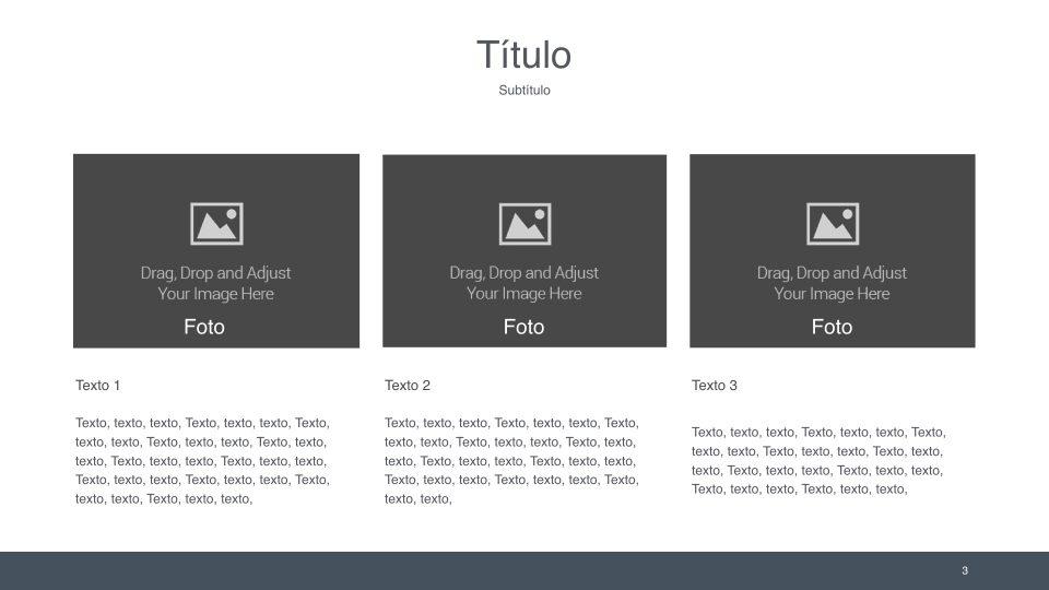 Utiliza estas 3 técnicas para organizar la información de tus slides.