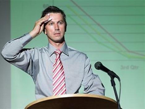 Nerviosismo hablar en público